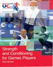 Cover of: Strength and Conditioning for Games Players