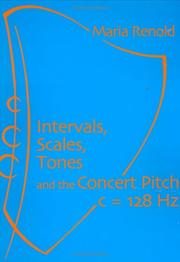 Cover of: Intervals Scales Tones