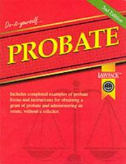 Cover of: Probate Guide (Law Pack Guide)