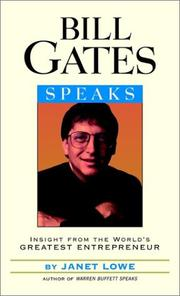 Cover of: Bill Gates Speaks