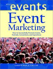 Cover of: Event Marketing | Leonard H. Hoyle