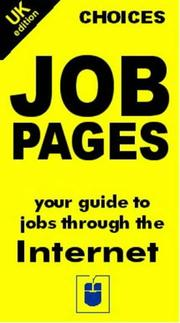 Cover of: Choices, Job Pages (Choices S.)