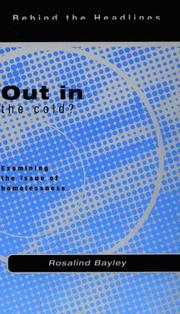 Cover of: Out In the Cold?