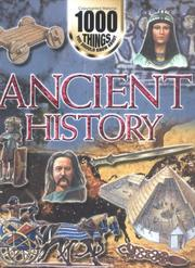 Cover of: 1000 Things You Should Know About Ancient History (1000 things you should know about)