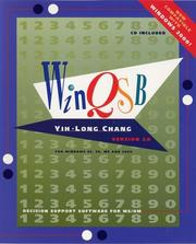 Cover of: WinQSB | Yih-Long Chang, Kiran Desai