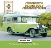 Cover of: Chevrolet Buses and British-built Chevrolet Buses (Fare Stage S.)