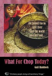 Cover of: What for Chop Today