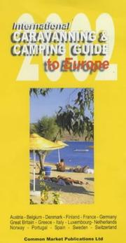 Cover of: International Caravanning & Camping Guide to Europe