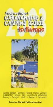 Cover of: International Caravanning and Camping Guide