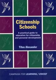 Cover of: Citizenship Schools