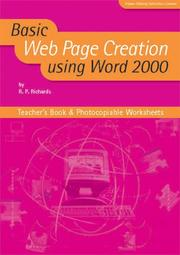Cover of: Basic Web Page Creation Using Word 2000 (Basic ICT Skills)