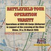 Cover of: Battlefield Tour Operation Varsity