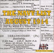 Cover of: The Navy List August 1914