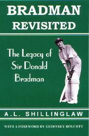 Cover of: Bradman Revisited