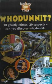 Cover of: Whodunnit?
