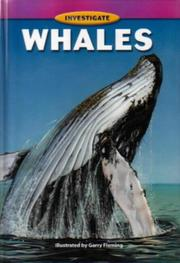 Cover of: Whales (Investigate !)