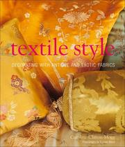 Cover of: Textile Style