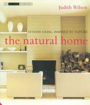 Cover of: The Natural Home | Judith Wilson