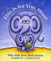 Cover of: This is for You, Mum!