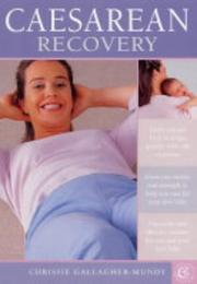 Cover of: Caesarean Recovery