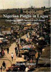 Cover of: Nigerian Pidgin in Lagos