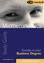 Cover of: Microeconomics (Success in Your Business Degree)
