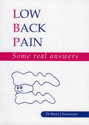 Cover of: Low Back Pain