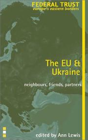 Cover of: The EU and Ukraine