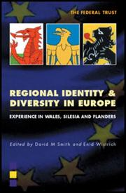 Cover of: Regional Identity and Diversity in Europe |