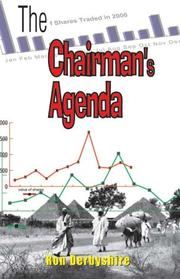 Cover of: The Chairman's Agenda by Ron Derbyshire