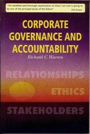 Cover of: Corporate Governance And Accountability