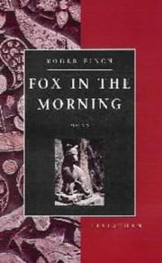 Cover of: Fox in the Morning
