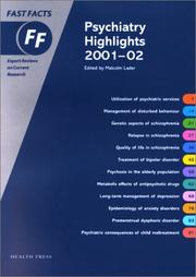 Cover of: Psychiatry Highlights 2001-2002 Fast Facts Series | Lader