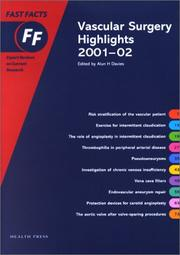 Cover of: Vascular Surgery Highlights 2001-2002 Fast Facts Series