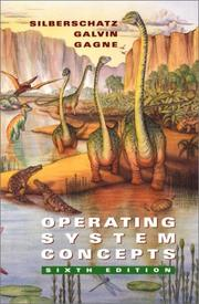 Cover of: Operating system concepts | Abraham Silberschatz