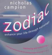 Cover of: Zodiac: enhance your life through astrology