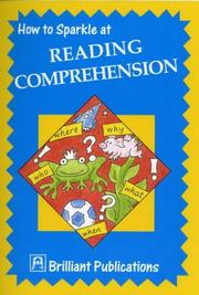 Cover of: How to Sparkle at Reading Comprehension (How to Sparkle At.)