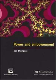 Cover of: Power and Empowerment by Neil Thompson