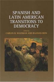 Spanish And Latin American Transitions To Democracy by