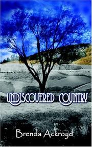Cover of: Undiscovered Country | Brenda Ackroyd