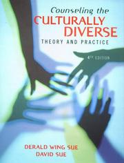 Cover of: Counseling the culturally diverse | Derald Wing Sue