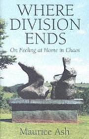 Cover of: Where Division Ends