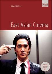 Cover of: East Asian Cinema | David Carter