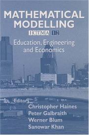 Cover of: Mathematical Modelling (ICTMA 12) |
