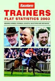 Cover of: Trainers Flat Statistics