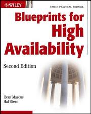 Blueprints for high availability by Evan Marcus