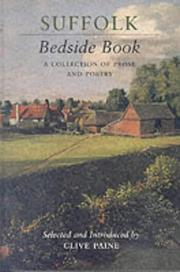 Cover of: Suffolk Bedside Book