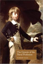 Cover of: The Genesis of the Naval Profession