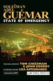 Cover of: State of Emergency (Visible Poets) | Soleiman, Adel GuГ©mar