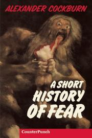 Cover of: Short History of Fear (Counterpunch)